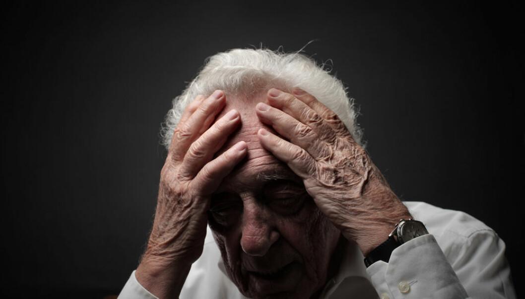 De fleste som rammes av slag er over 70 år. (Illustrasjonsfoto: Microstock)
