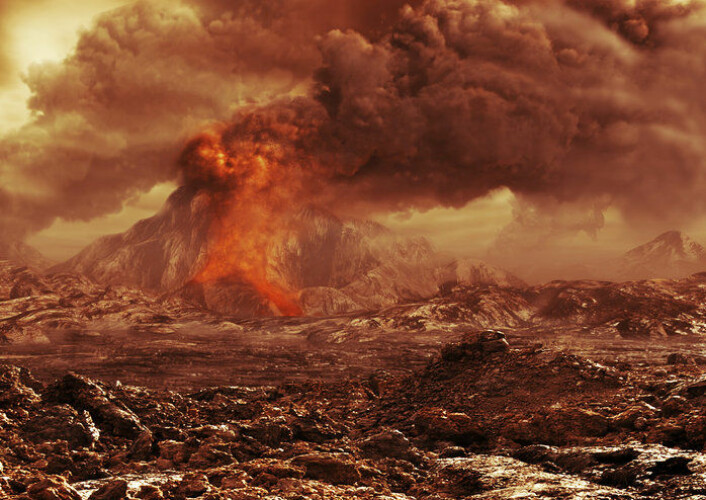 Kan det være aktive vulkaner på Venus? (Foto: ESA/AOES)