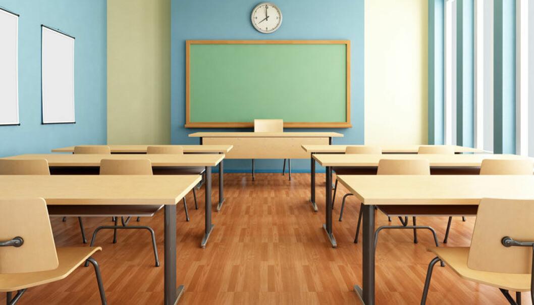 I norske skoler har elever god tilgang til teknologi i forhold til resten av Europa, ifølge Monitor 2013-undersøkelsen fra Kunnskapsdepartementets Senter for IKT i utdanningen. Microstock