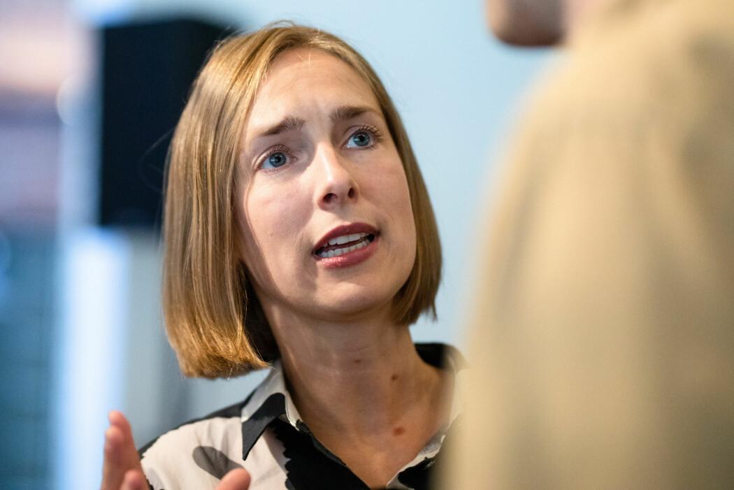 Rektor Hanne Solheim Hansen ved Nord universitet følte at hun ble presset av forsknings- og høyere utdanningsminister Iselin Nybø. (Foto: Audun Braastad / NTB scanpix)