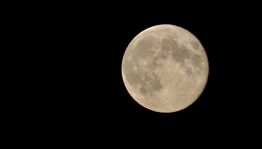 Mandag betyr månens dag. (Foto: Colourbox)