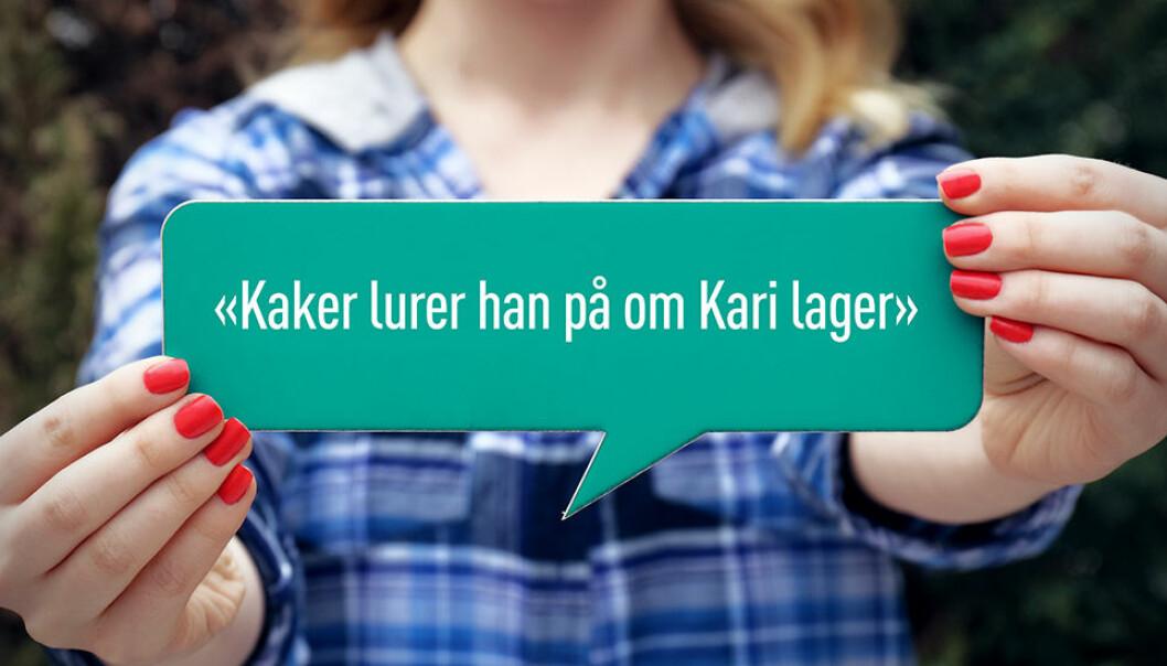 Et språkfenomen fins i hovedsak bare på norsk, svensk og dansk, viser en studie.
