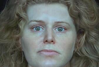 Er dette ansiktet til en vikingkriger?