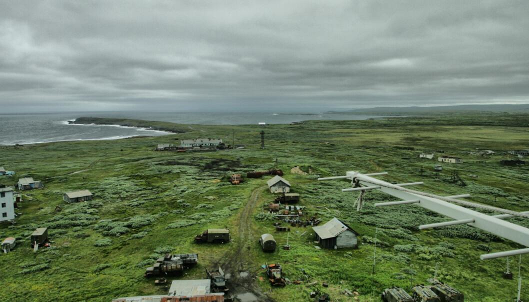 Tsypnavolok er i dag tilholdssted for en russisk militær enhet.