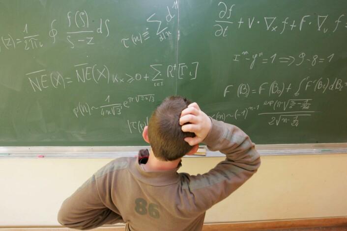 4.700 norske elevar har blitt testa i faga matematikk, naturfag og lesing i den siste Pisa-undersøkinga. (Illustrasjonsfoto: www.colourbox.no)