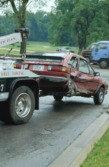 """""""Fem prosent av de overlevende etter alvorlige trafikkulykker får PTSD."""""""