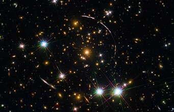 Astronomers observe a sunburst from the early universe – in 12 copies
