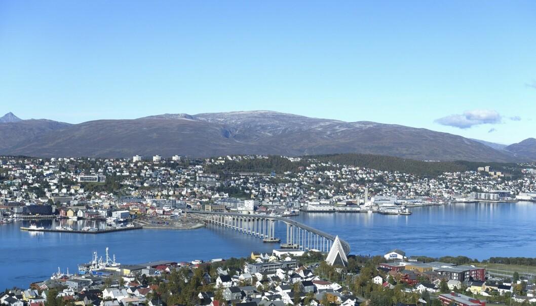 Studentene på masterkurset i nordisk byutvikling skal bo litt på tre ulike studiesteder, også her i Tromsø. Det skal gi ulike perspektiver på nordisk byutvikling.