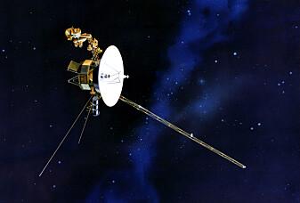 Romsonde sendte melding hjem:Slik er det på grensen av solsystemet vårt