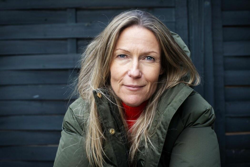 Programleder Helene Sandvig sjekker inn på Demensdagene 2019 – fortsatt oppbragt over sider ved norsk demensomsorg. (Foto: Martin Lundsvoll)