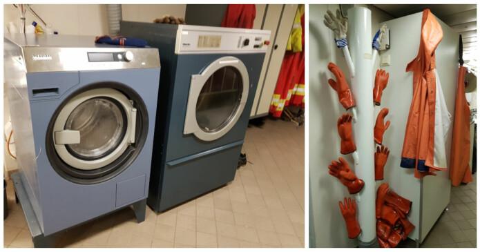 Vaskemaskiner og tørkeløsninger til ethvert bruk. Bilder: Lilja R. Bjarnadóttir
