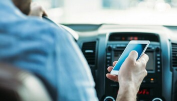 Mindre stress i bil med mobil