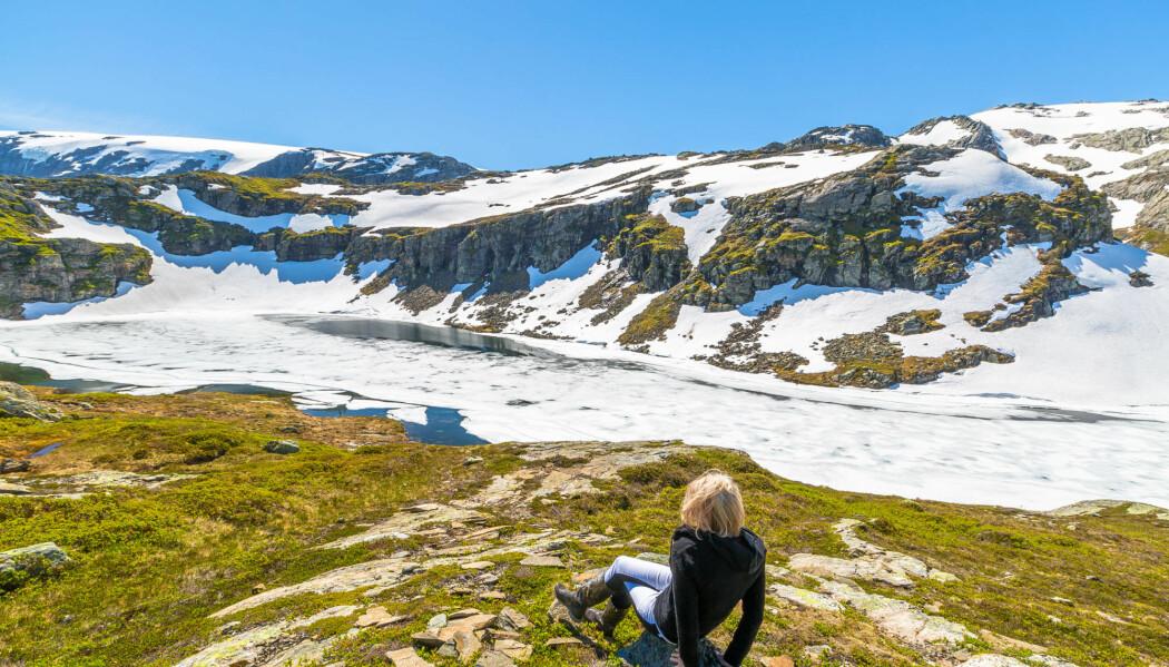 Norsk natur har mye å by på. Her er Folgefonna nasjonalpark, den tredje største isbreen på det norske fastlandet.