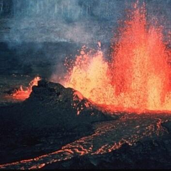 """""""Var det vulkanisk aktivitet som gjorde at dinoene gikk dukken? (Foto: Wikimedia Commons)"""""""