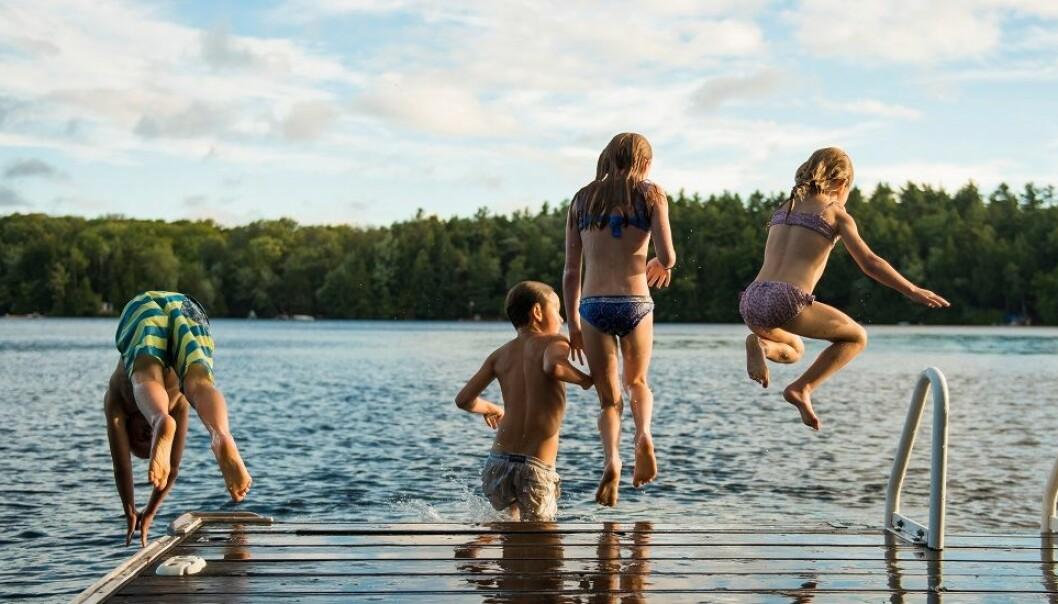 Bare to prosent av skolene trener svømming utendørs i dag. Altså gjør 98 prosent det ikke.