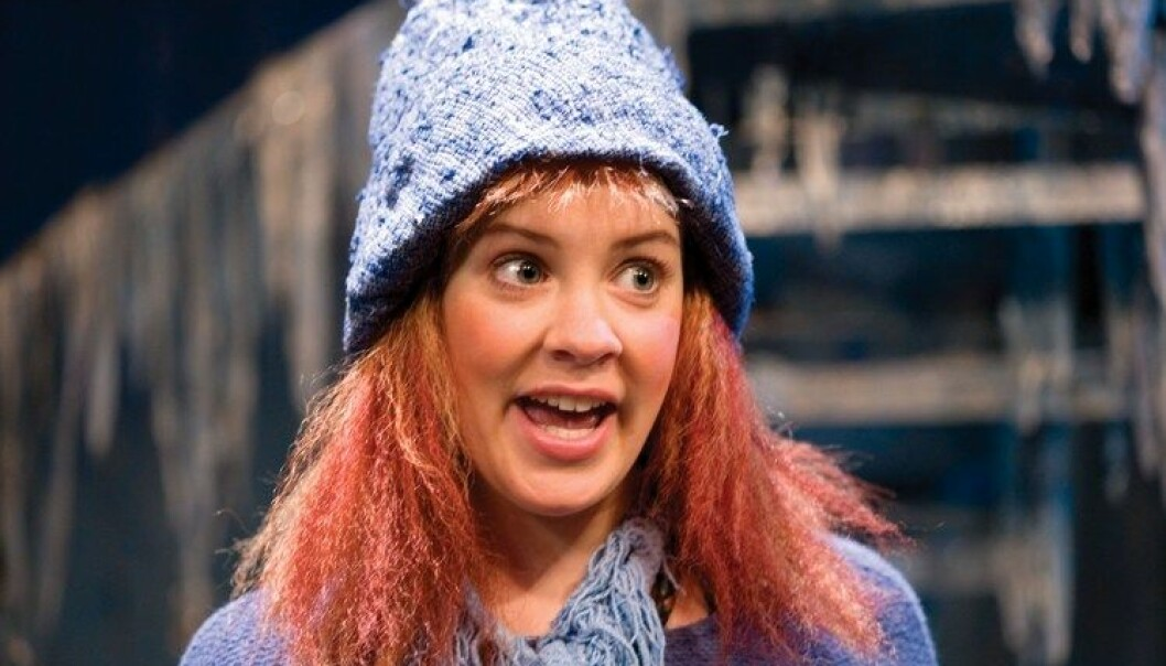 Teaterstykket Jul i Blåfjell