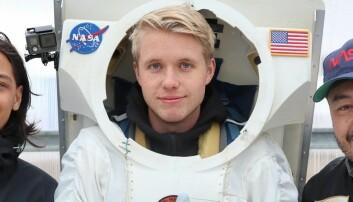 Norsk astronaut-hanske kan bli med til månen og Mars