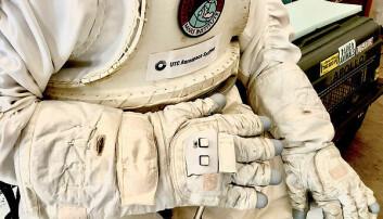 Slik ser prototypen av den smarte hansken ut.
