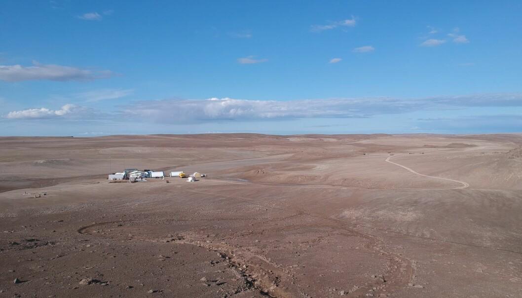 Forskningsstasjonen på Devon Island ligger i helt spesielle omgivelser som passer perfekt til testing av romfartsteknologi.