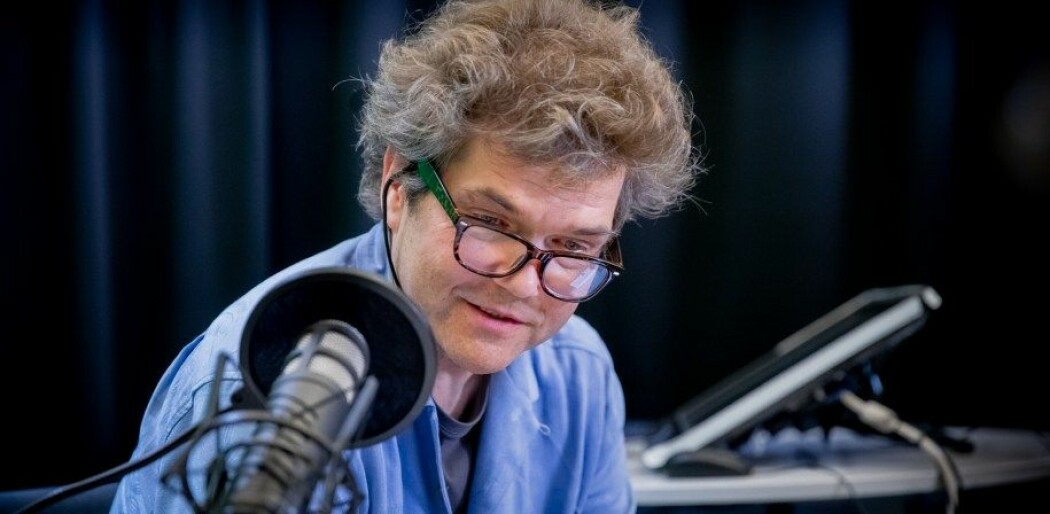 Når Gaute Einevoll ikke lager podcast, er han professor i fysikk ved NMBU og UiO. (Foto: Håkon Sparre)