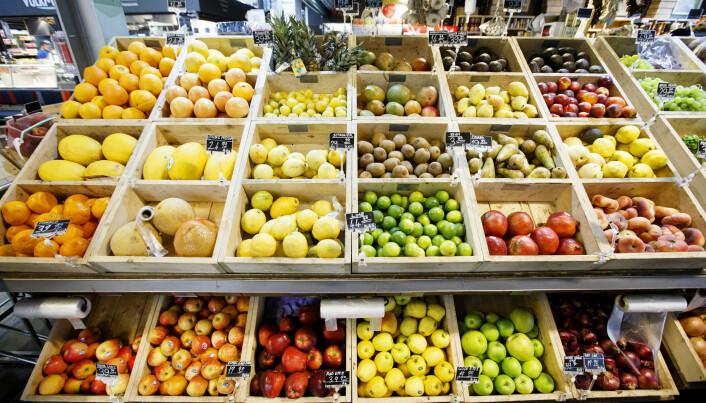 Større utvalg av frukt og grønt i butikkene ga salgsboom blant de mest usunne