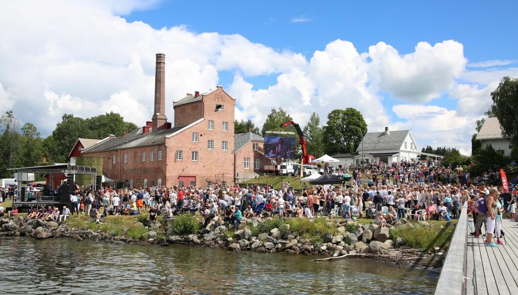 Atlungstad Brenneri er et teknisk-industrielt kulturminne hvor de har lykkes i å gjøre stedet til en viktig del av lokalbefolkningens identitet. Foto: Atlungstad Brenneri.