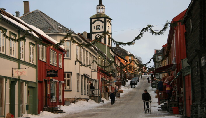 Røros er en populær turistdestinasjon. Det hadde byen neppe vært uten kulturminnene og synlige spor etter historien. Foto: Solveig Hjelme/Wikimedia Commons