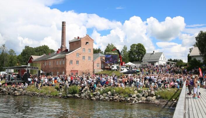 Atlungstad Brenneri er et kulturminne som skaper engasjement lokalt, og som til og med har sin egen venneforening. Foto: Atlungstad Brenneri