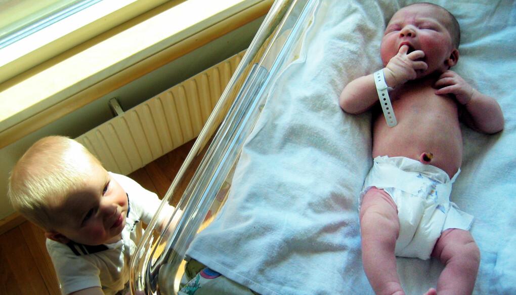 Hittil er fem nyfødte barn i Norge reddet etter å ha blitt testet for alvorlig immunsvikt det siste året. (Foto