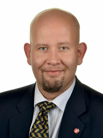 Tord Lien er forskningspolitisk talsmann for Fremskrittspartiet. (Foto: Stortinget)
