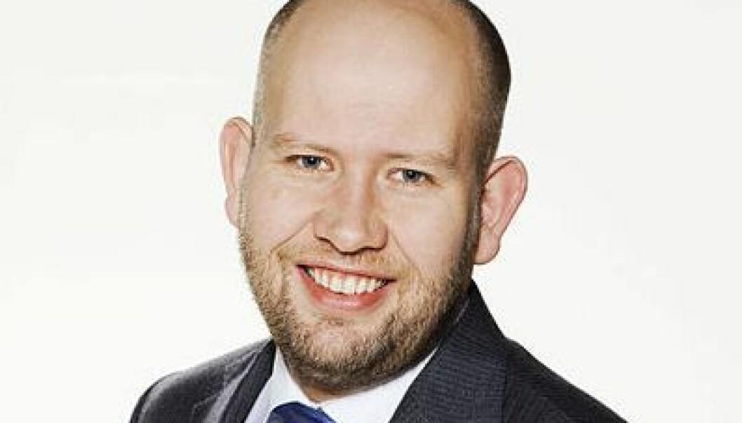 Tord Lien er forskningspolitisk talsmann for Fremskrittspartiet. Wikimedia commons