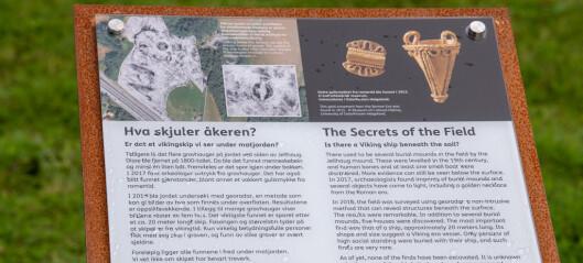 Skipsgraven på Gjellestad gjøres levende digitalt