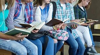 Elever blir engasjerte av vanskelig litteratur