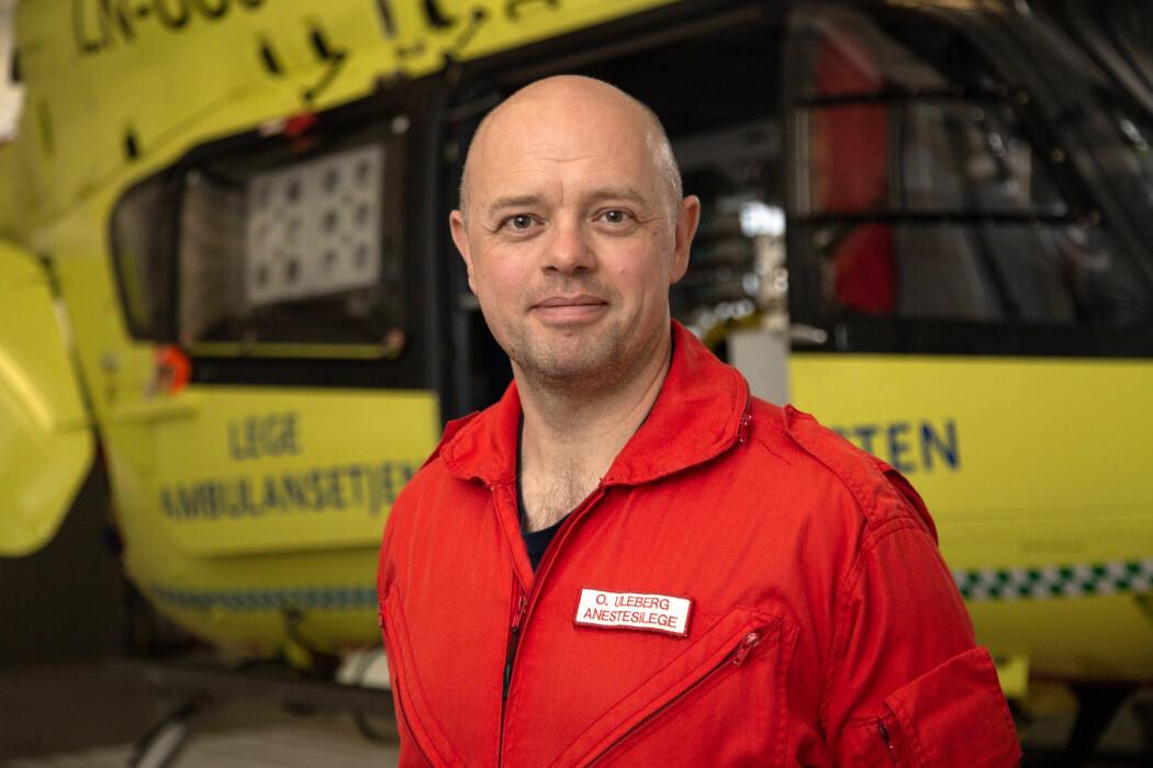 Oddvar Uleberg er overlege ved St. Olavs hospital. Han har forsket på hvordan det går med pasientene etter de er skrevet ut fra sykehuset.