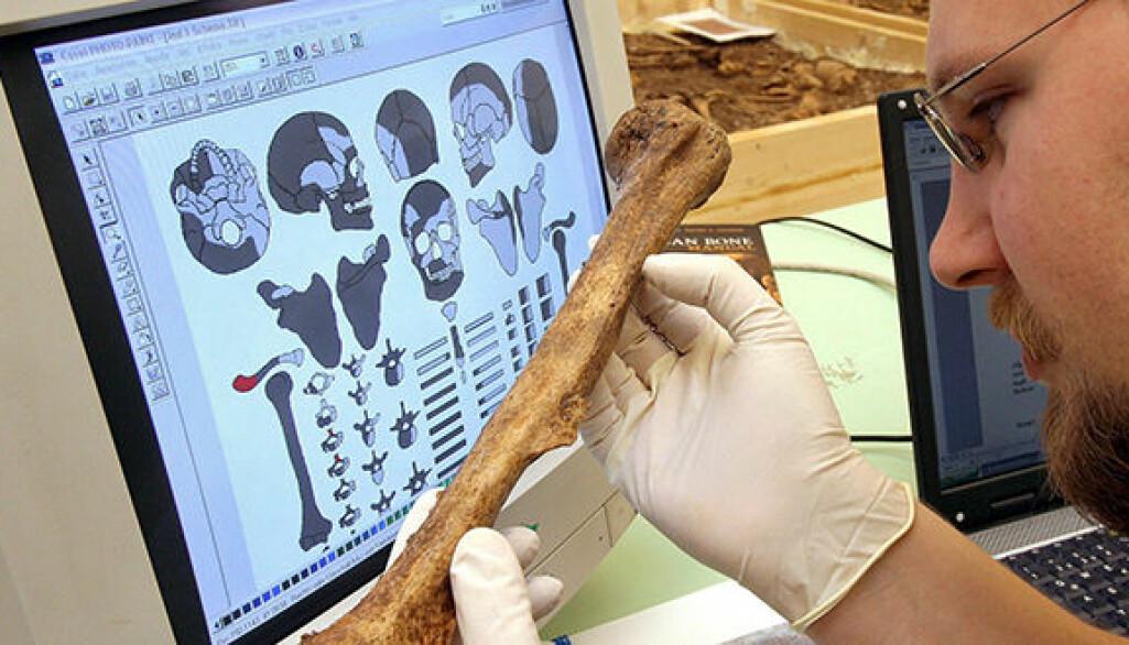 Forskarar frå Mainz i Tyskland og universiteta i Bristol, England og Halle i Tyskland undersøkjer fire familiegraver som vart funne i Eulau i Tyskland med strontium-analyse.