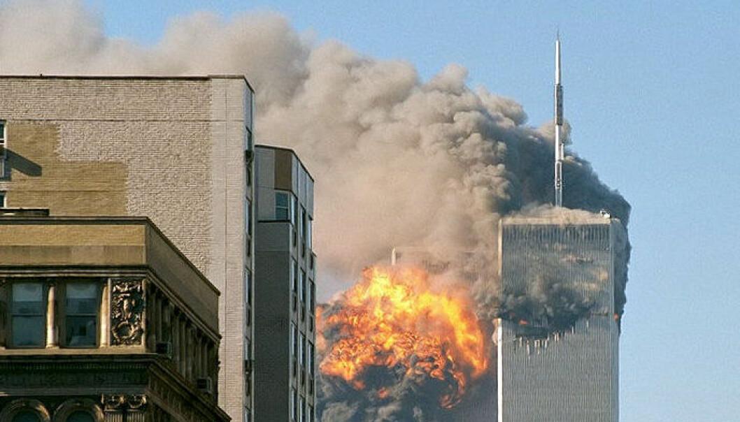 Terrorangrepet i New York 11. september 2001. (Foto: Wikimedia Commons)