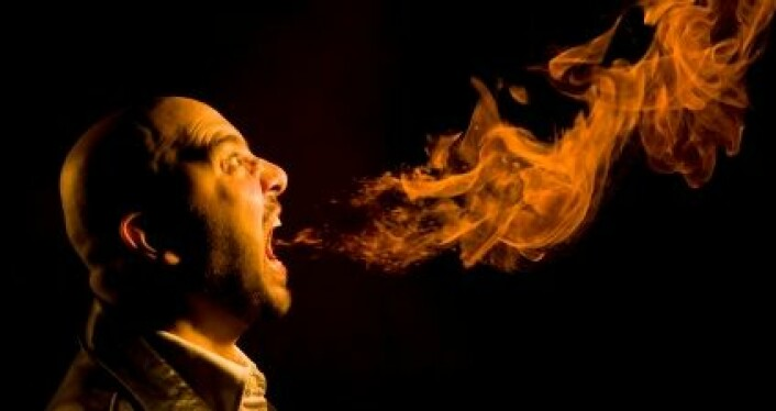 Hvor deilig ville det ikke vært med forskere som sprutet ild av og til? (Foto: iStockphoto)