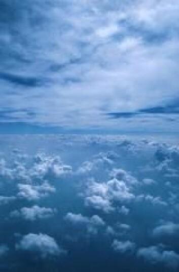 """""""To skylag i atmosfæren."""""""