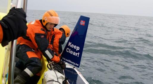 Robot-seglbøyar forenklar forsking i Arktis