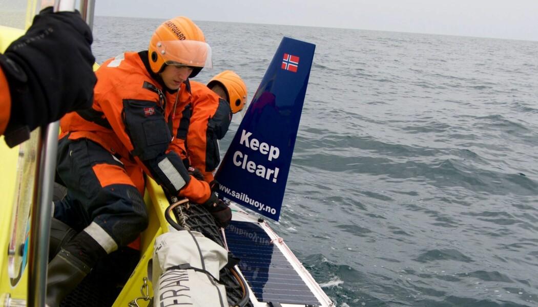 Ved hjelp av denne vinddrive farkosten kan ein trygt og effektivt samle inn viktige forskingsdata frå ugjestmilde havstrok.