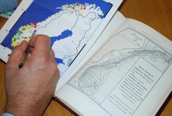 Sammenligning av Nansen landhevingsmodell med moderne geodetiske satellittmålinger. Foto: Anne Jørgensen