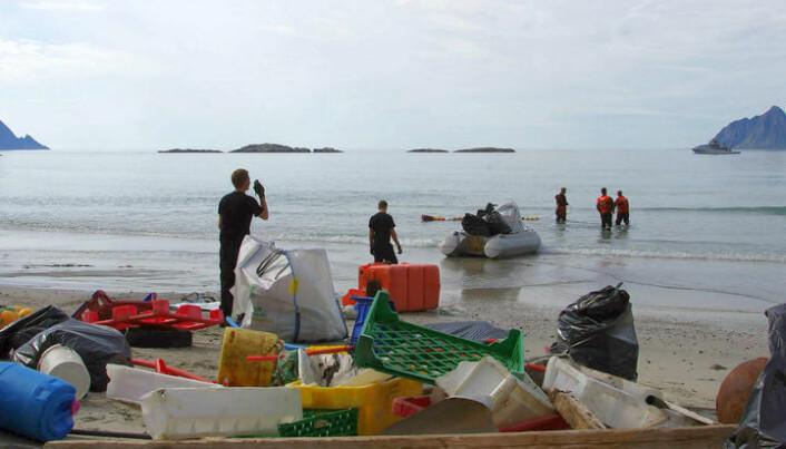 Plast truer Arktis