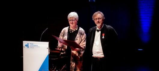 Kongens Fortjenstmedalje til Lasse Thoresen