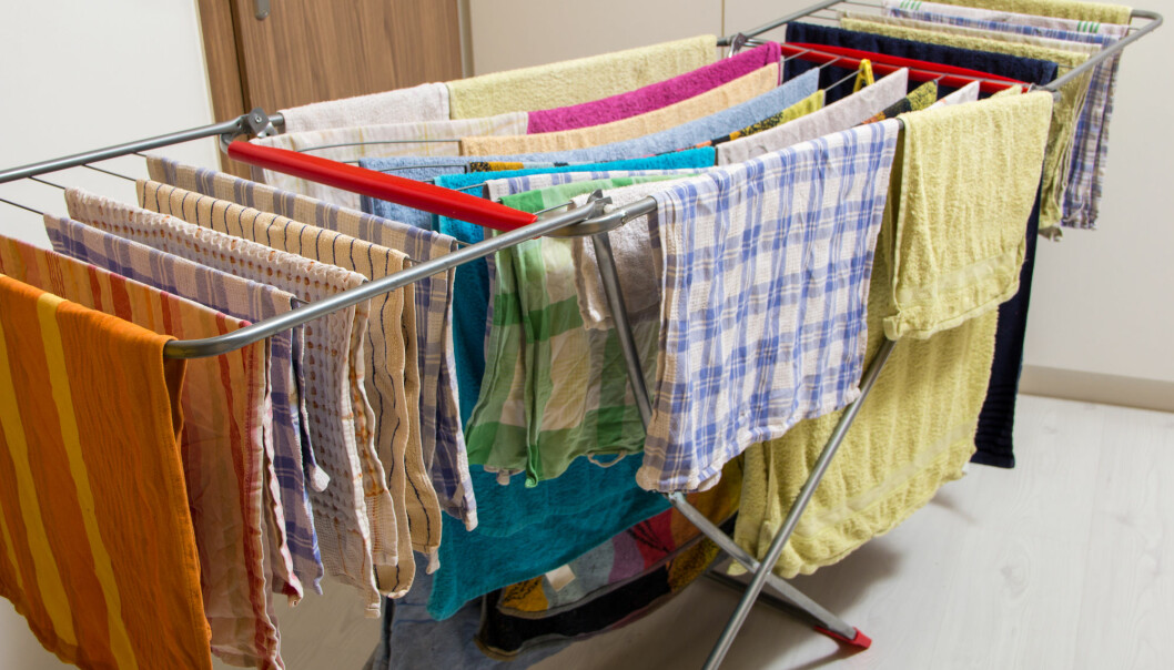 Derfor bør du ikke tørke klærne dine inne
