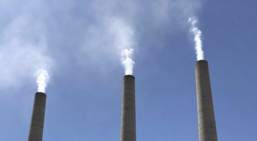 Stadig mer klimagasser i atmosfæren