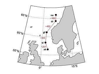 Ida Marie Solbrekke har studert hvordan vindressursene fra Ekofisk i sør til Norne i nord utfyller hverandre.
