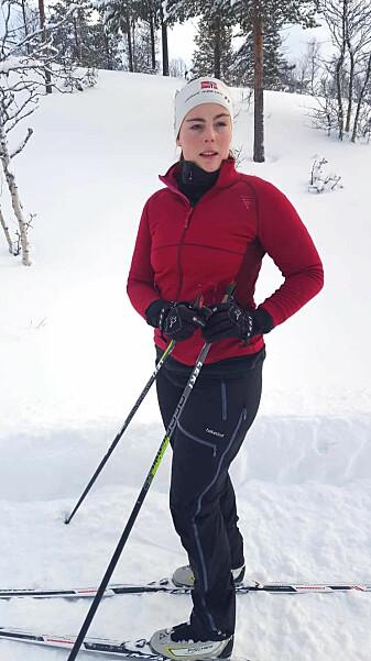 Marte Rykkje Halstensen har alltid vært mye i fysisk aktivitet. Det hjalp trolig noe på mageplagene. Men i perioder førte sykdommen til at hun orket lite.