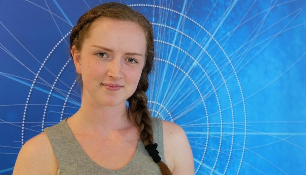 – Det er veldig moro å jobbe et sted der man ser at folk er drevet av nysgjerrighet og ikke av pliktfølelse, sier masterstudent Emma Wistrøm.