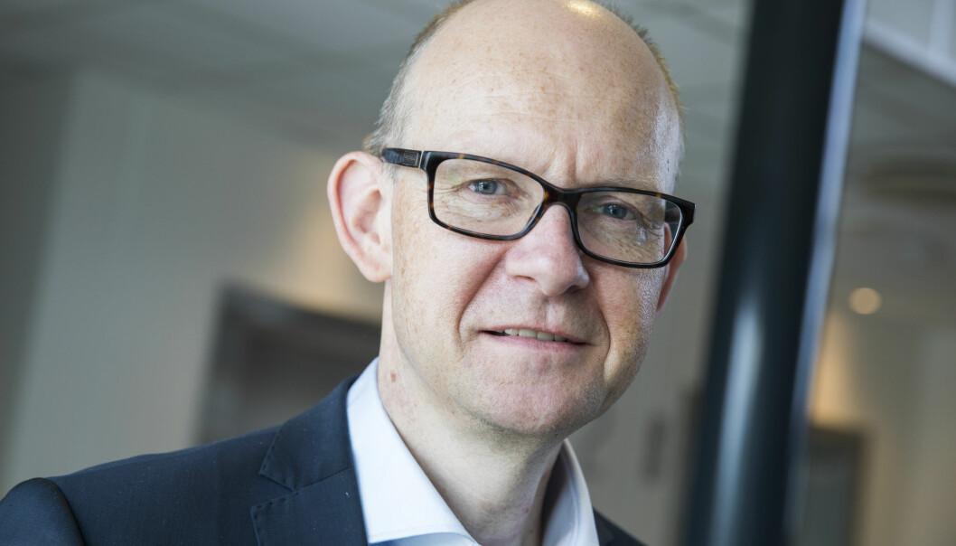 – Det er rimelig at det er en balanse mellom ekstern og intern finansiering sier administrerende direktør Geir Axelsen i SSB.