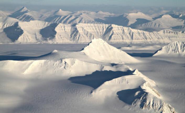 Svalbard. (Foto: Bjørn-Owe Holmberg)